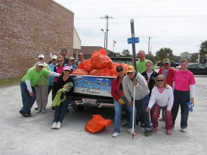Parrot Heads and Adopt-A-Highway cleanup